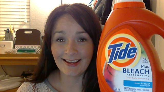 Video is on Tide with bleach and why I love it!