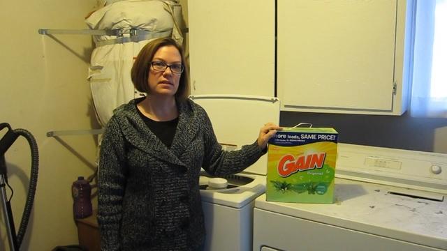 I talk about Gain Powder Laundry Detergent, Original.