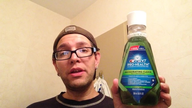Review of crest pro health invigorating clean mouthwash
