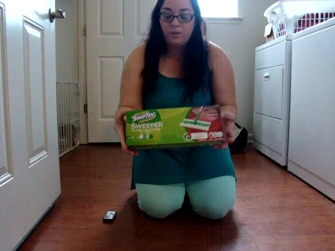 My review Swiffer Sweeper Started Kit