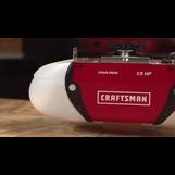 Craftsman 189 Hp Chain Drive Garage Door Opener With 2 Multi