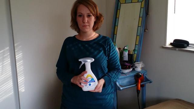 Review of Febreze Fabric Refresher Allergen Reducer Clean Splash