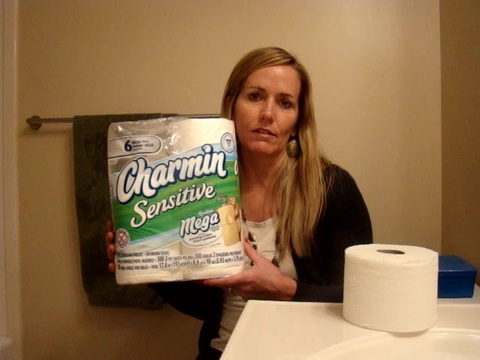 I have loved trying this Charmin sensitive bathroom tissue.