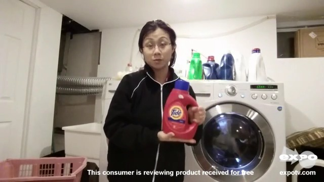 New detergent that helps you do laundry even faster, gets clothes just as clean.