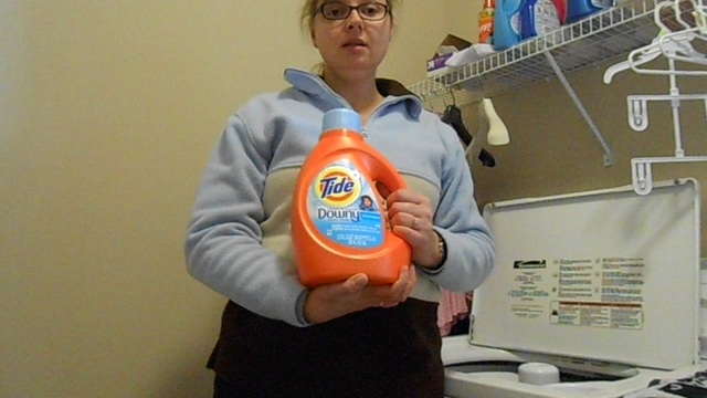 Tide with a touch of Downy laundry detergent (Clean Breeze)