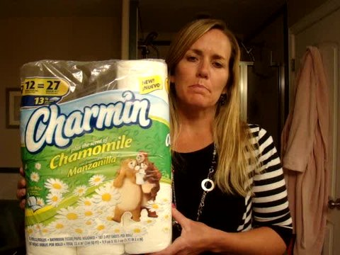 I love this Charmin with Chamomile!