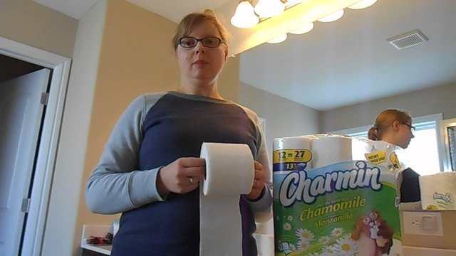 Charmin plus the Scent of Chamomile