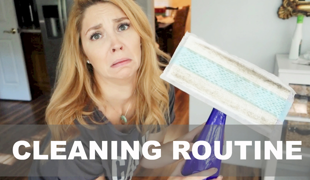 OUR DAILY CLEANING ROUTINE!